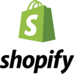 Shopify. A third party service