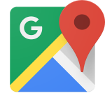 Google Maps. A third party service