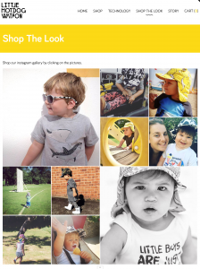an example of InstaShop in action